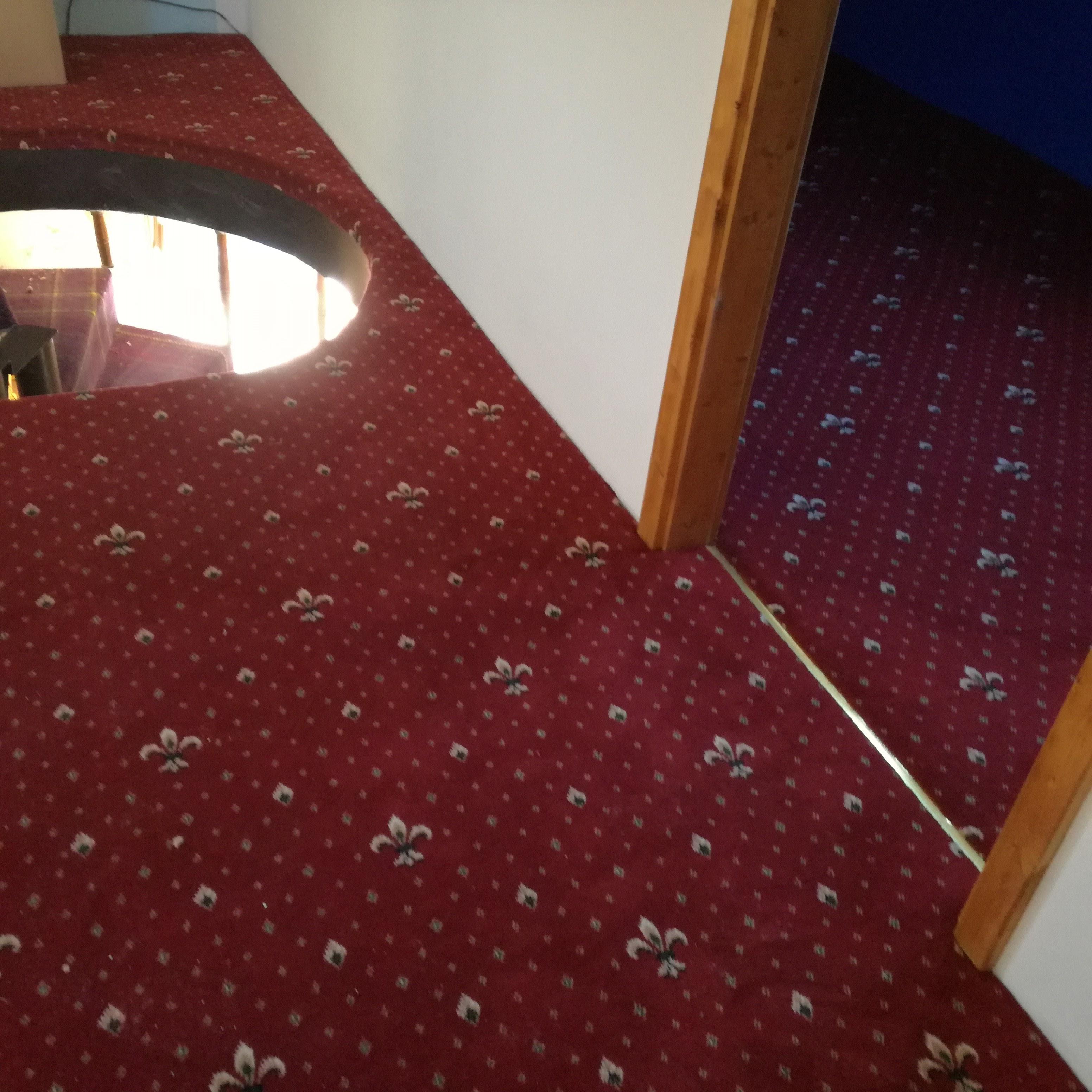 Hotellový koberce Wellington v podkroví RD